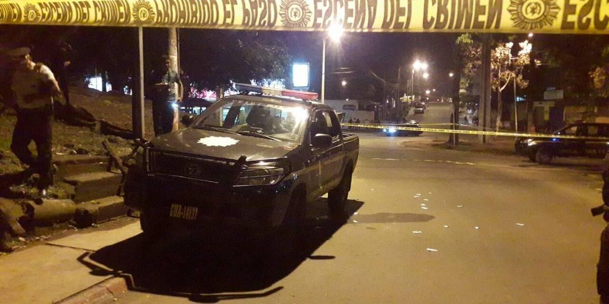 Muere un inspector de la Policía que fue baleado por pandilleros