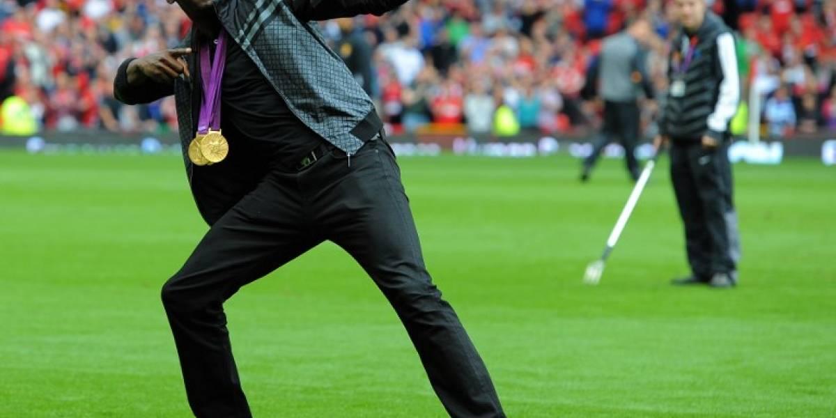 Usain Bolt jugará un partido de exhibición con el ManU