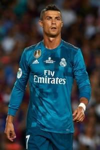 Cristiano con el Madrid en 2017