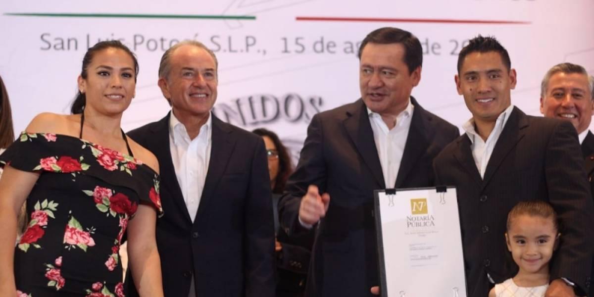Osorio Chong inaugura el 'Mes del Testamento' desde San Luis Potosí