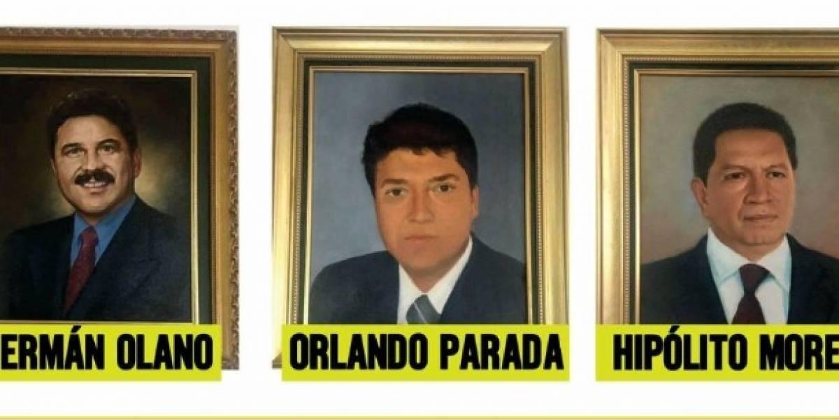 Concejo de Bogotá descolgará los cuadros de los concejales corruptos