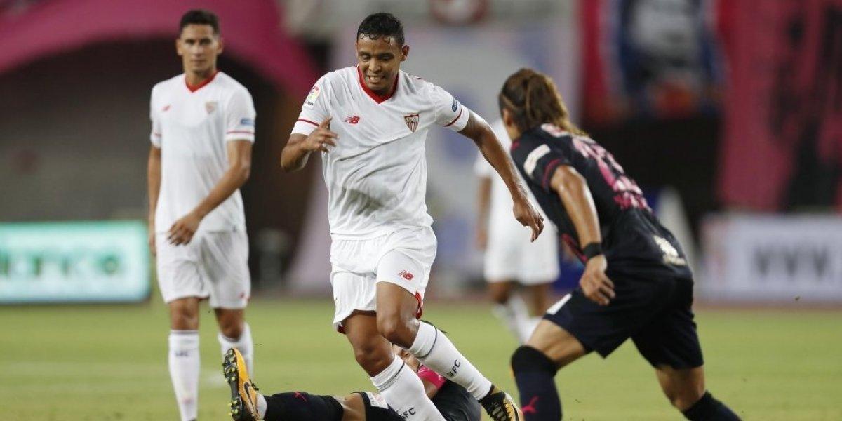 Muriel enfrenta su primer reto oficial con el Sevilla, en la Champions