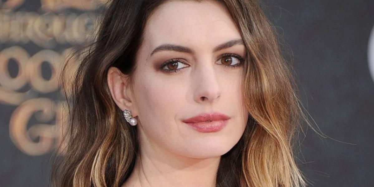 Se filtran fotos íntimas de Anne Hathaway