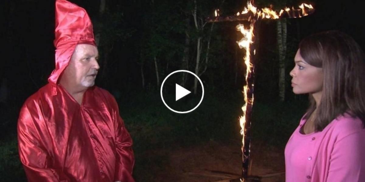 Presentadora colombiana fue amenazada por el Ku Klux Klan