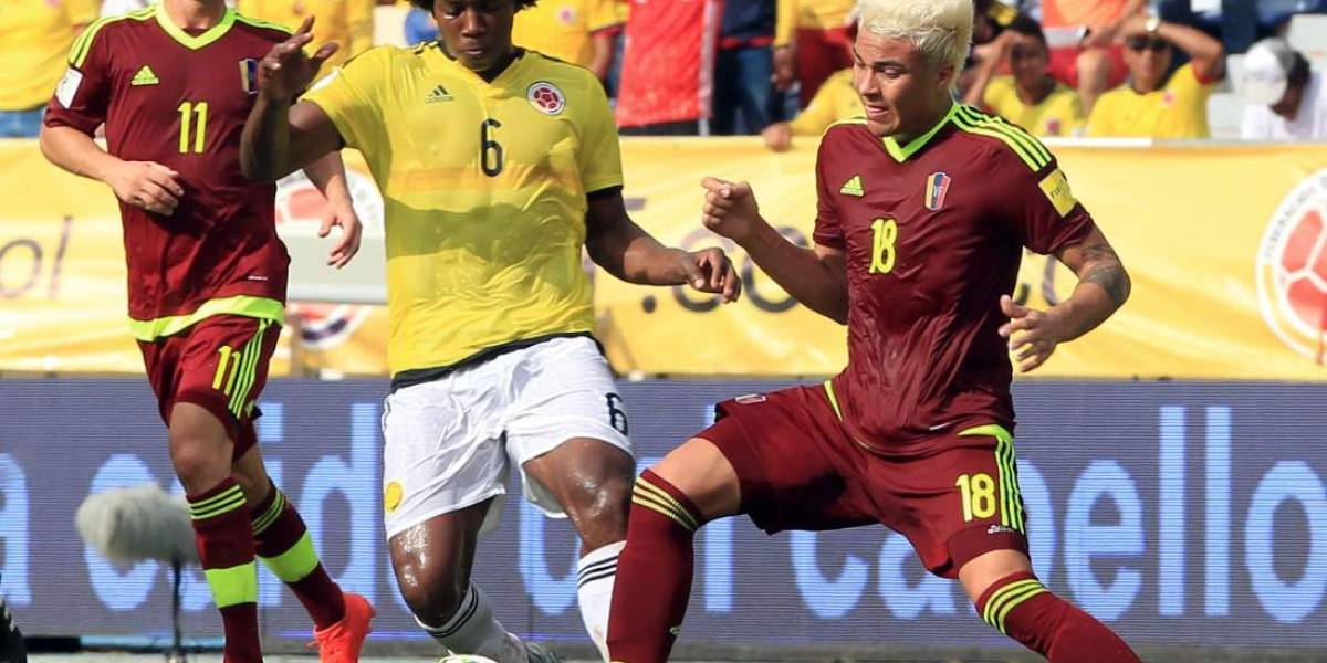 Se calienta el Venezuela vs Colombia por las eliminatorias
