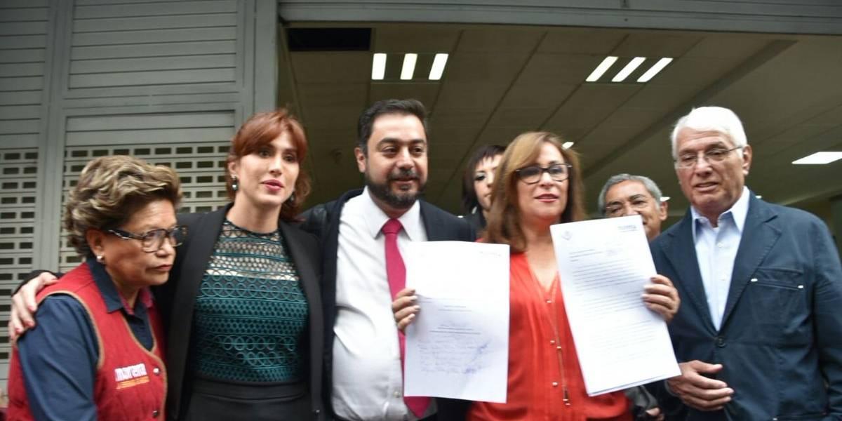 Diputados de Morena denuncian a Lozoya ante la PGR