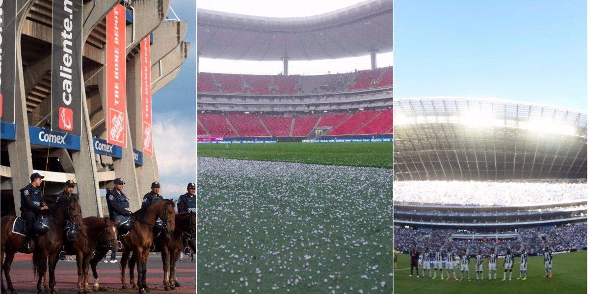 México da a conocer tres estadios que albergarían Mundial 2026