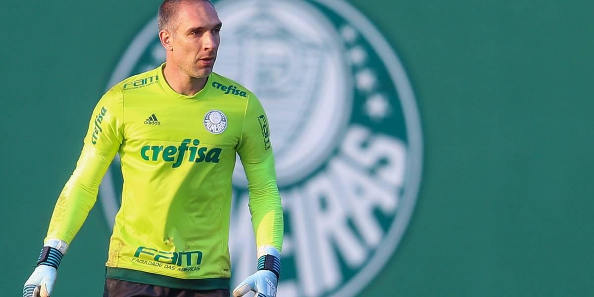 Palmeiras vai renovar com Fernando Prass nos próximos dias