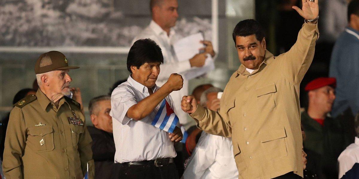 Evo Morales rechaza 'intervencionismo' de Pence a Venezuela
