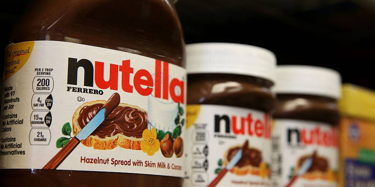 'Dia Mundial da Nutella' será comemorado na segunda-feira