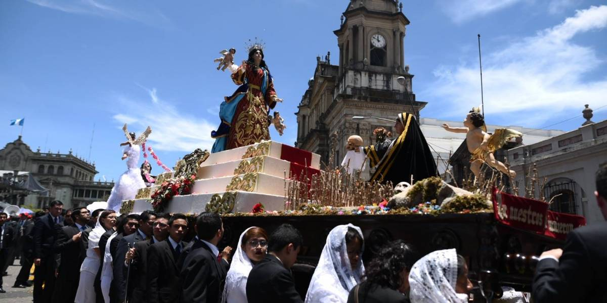 20 procesiones recorrerán el centro histórico este fin de semana