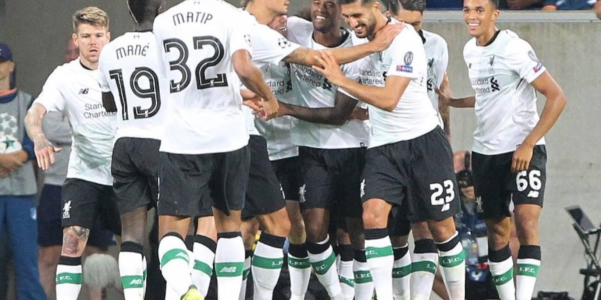 El Liverpool vence al Hoffenheim y pone un pie en la Champions League