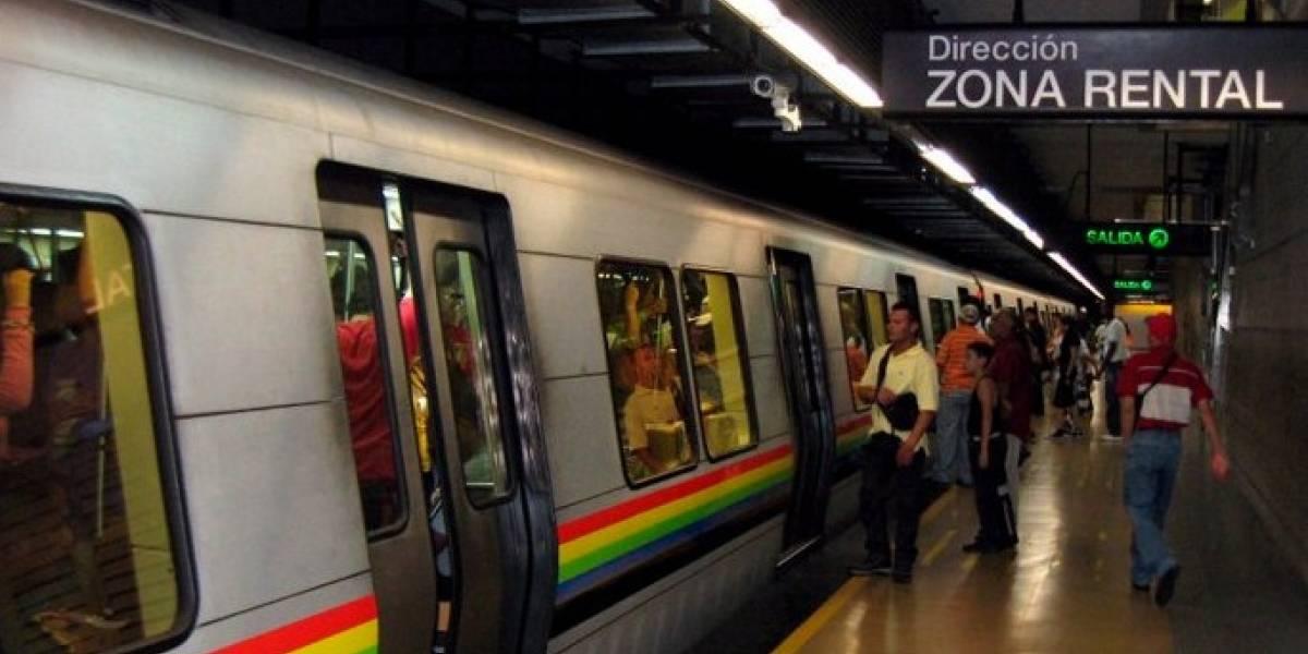 Suspenden servicio en Metro de Caracas por explosiones