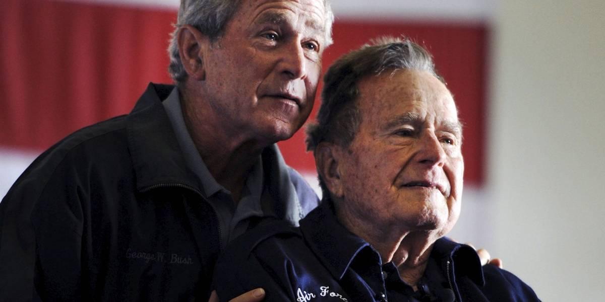 Expresidentes Bush llaman a rechazar el