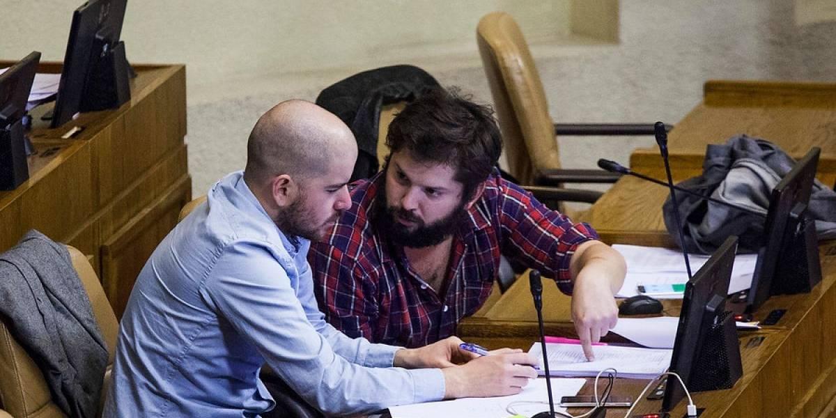 Sigue la telenovela del Frente Amplio: movimiento de Boric se arrepiente de firmar veto contra Mayol