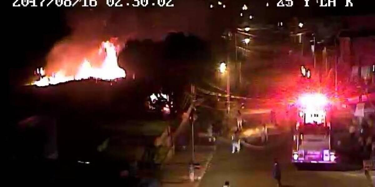 ECU 911 coordinó con Bomberos de Guayaquil atención de incendio estructural