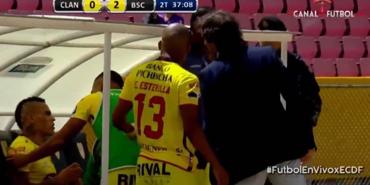 Barcelona SC ya tiene sanción para Jonathan Álvez