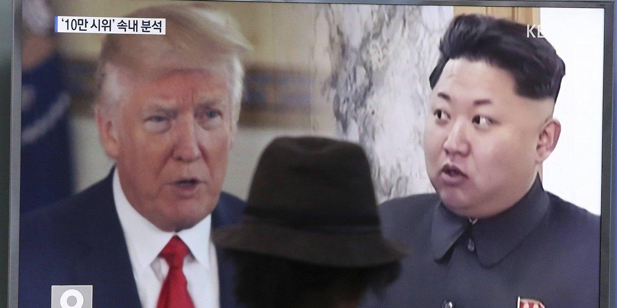 Donald Trump 'felicita' a Kim Jong-un por no atacar la isla de Guam