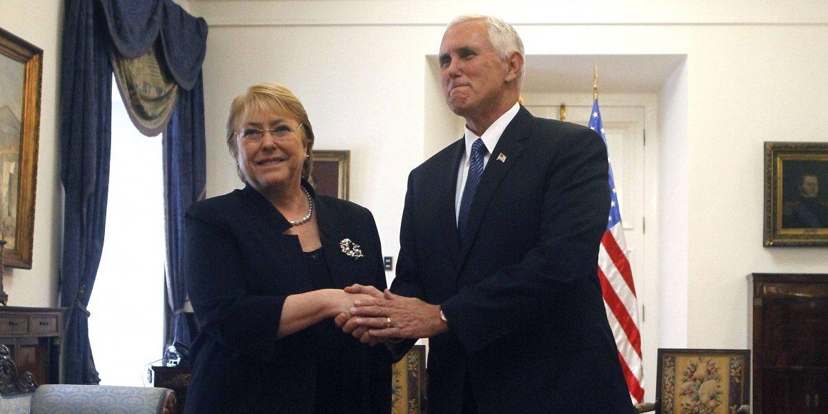 Vicepresidente de EE.UU. Mike Pence llega a Panamá