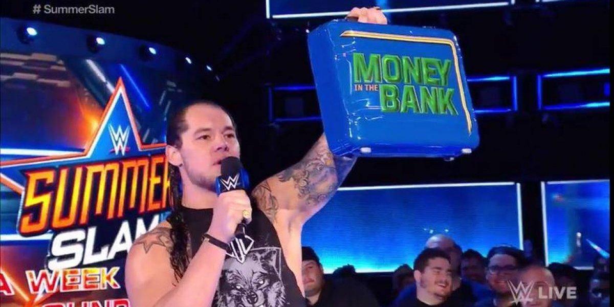 Batacazo en la WWE: Baron Corbin fracasó al canjear su maletín por el título