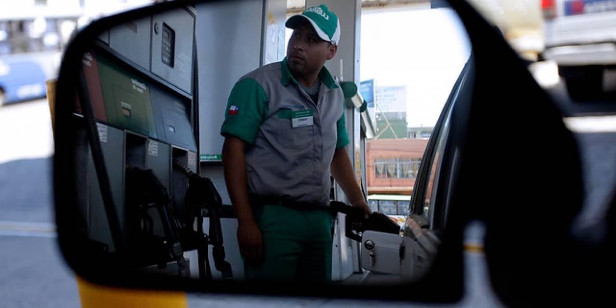 Sólo el precio de la bencina de 93 baja este jueves