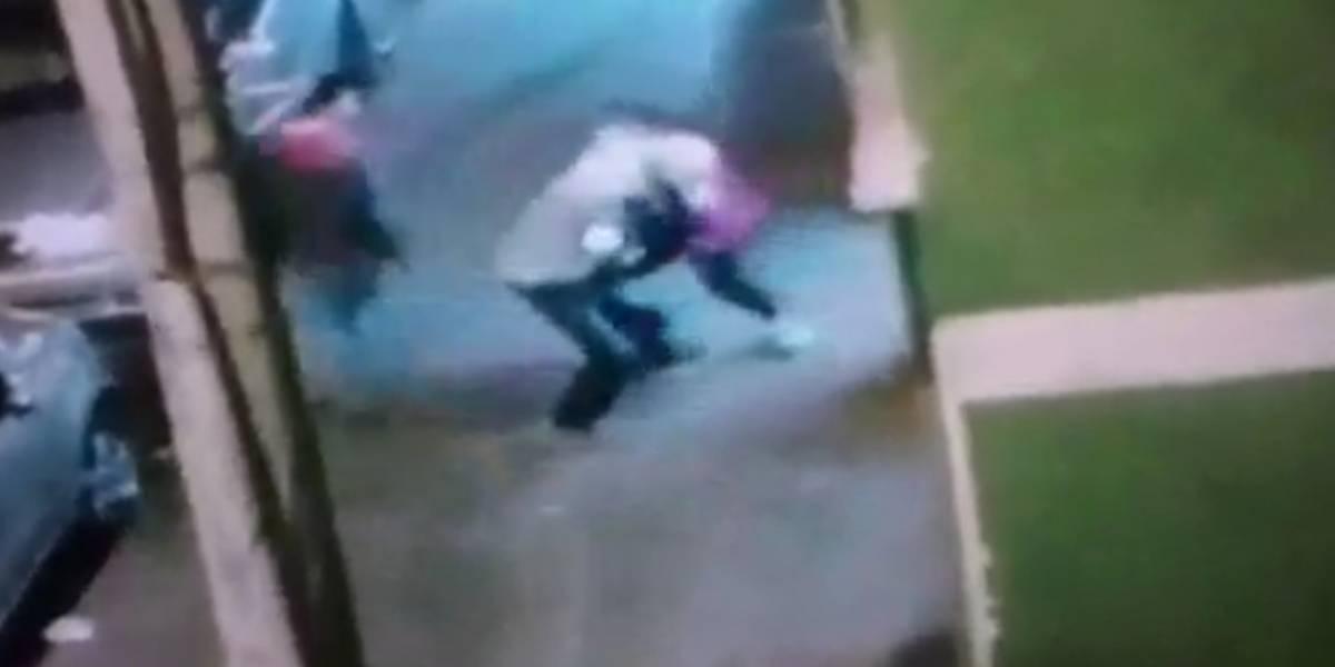 Mujer se enfrenta a ladrón armado con un cuchillo en el Sur de Bogotá