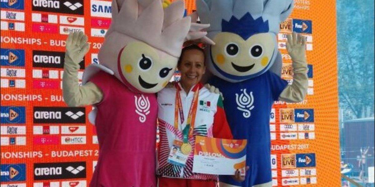 Laura Vaca gana oro en el Campeonato Mundial Masters de Budapest