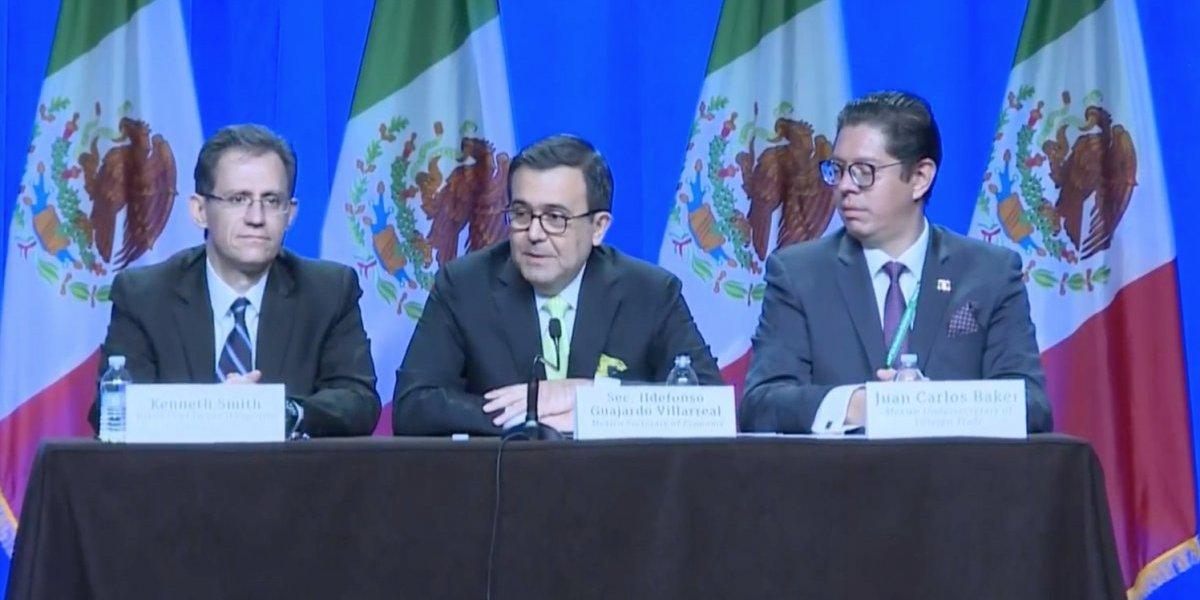 México, EU y Canadá pactan evitar filtraciones del TLCAN
