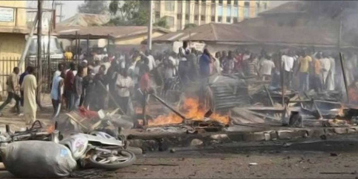 Al menos 27 muertos y 80 heridos en un atentado suicida en Nigeria