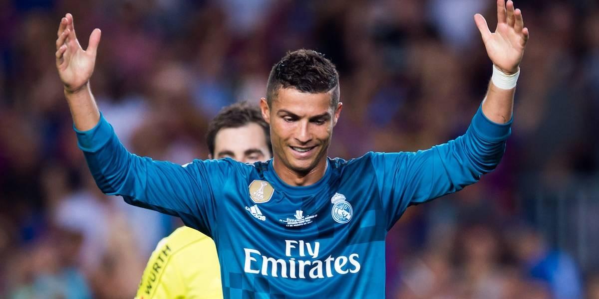 Ratifican sanción de cinco partidos para Cristiano Ronaldo