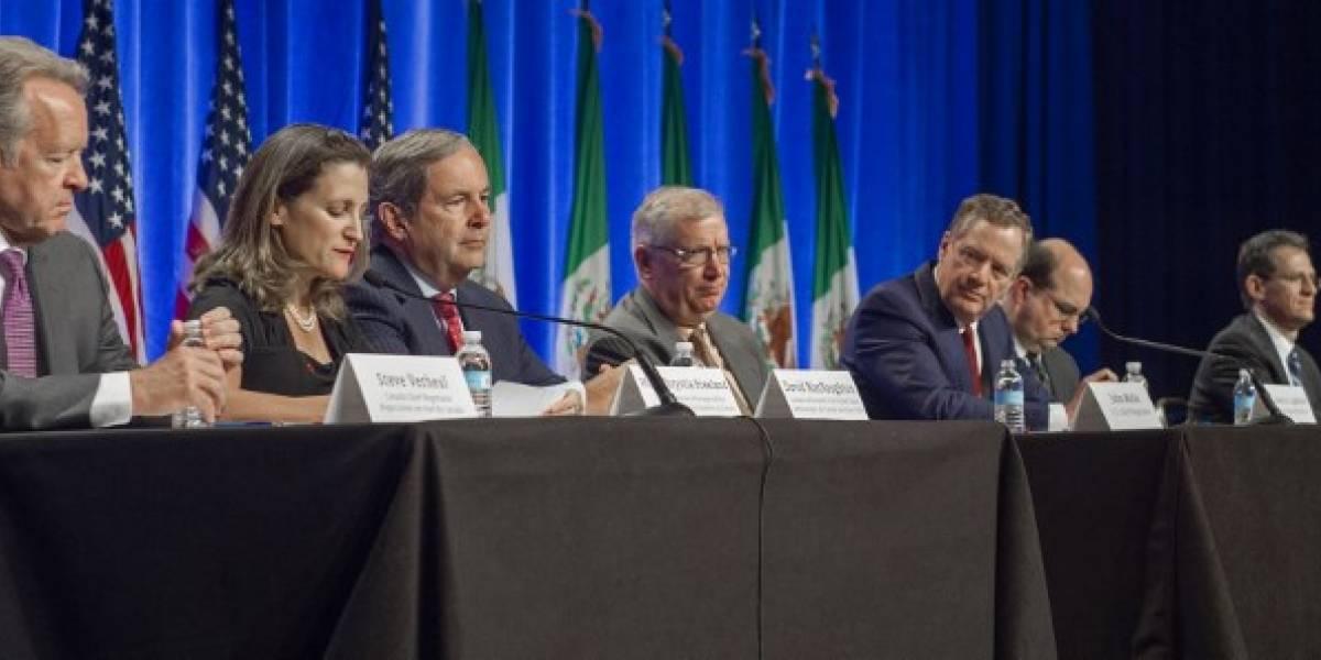 Presionados por Trump, Estados Unidos, México y Canadá revisan el TLCAN