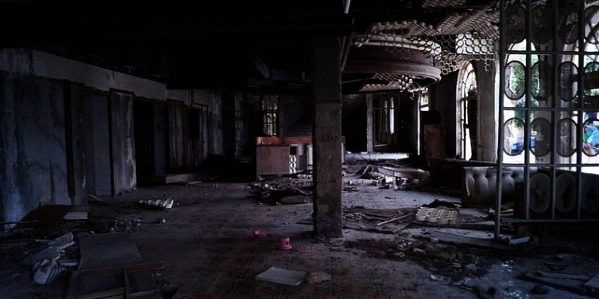 FOTO. Captan el supuesto fantasma de un niño en un hotel abandonado