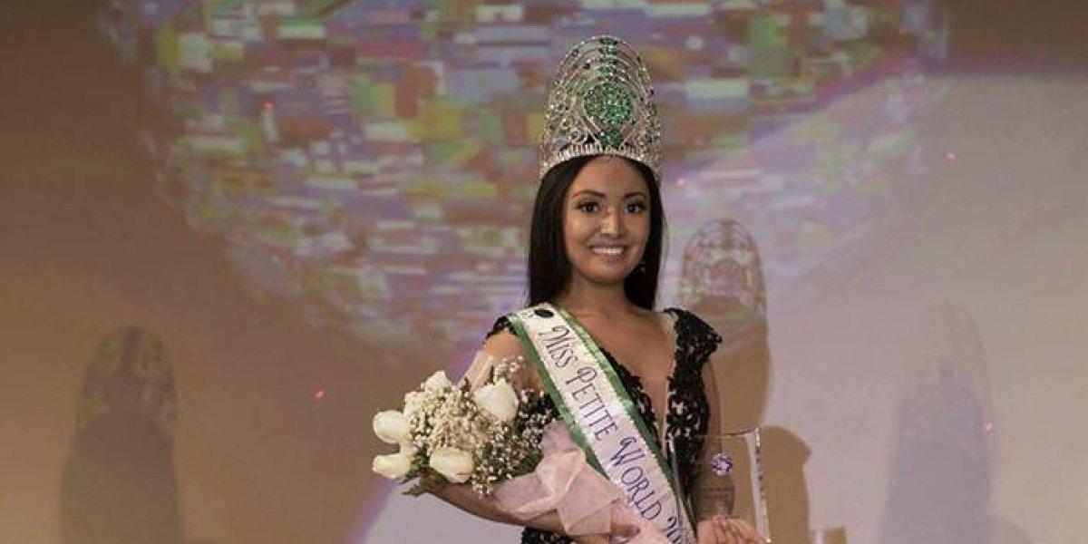 """Miss Petite World 2017: """"Quiero aportar a la comunidad guatemalteca dentro y fuera de sus fronteras"""""""