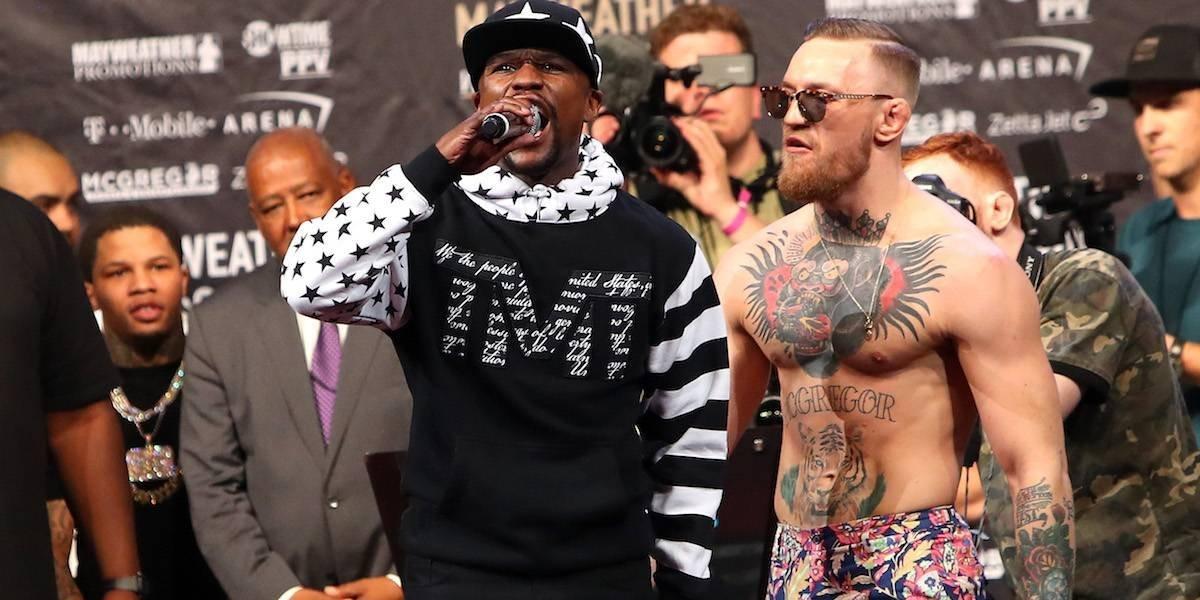 Mayweather y McGregor pelearán con guantes más pequeños de lo normal