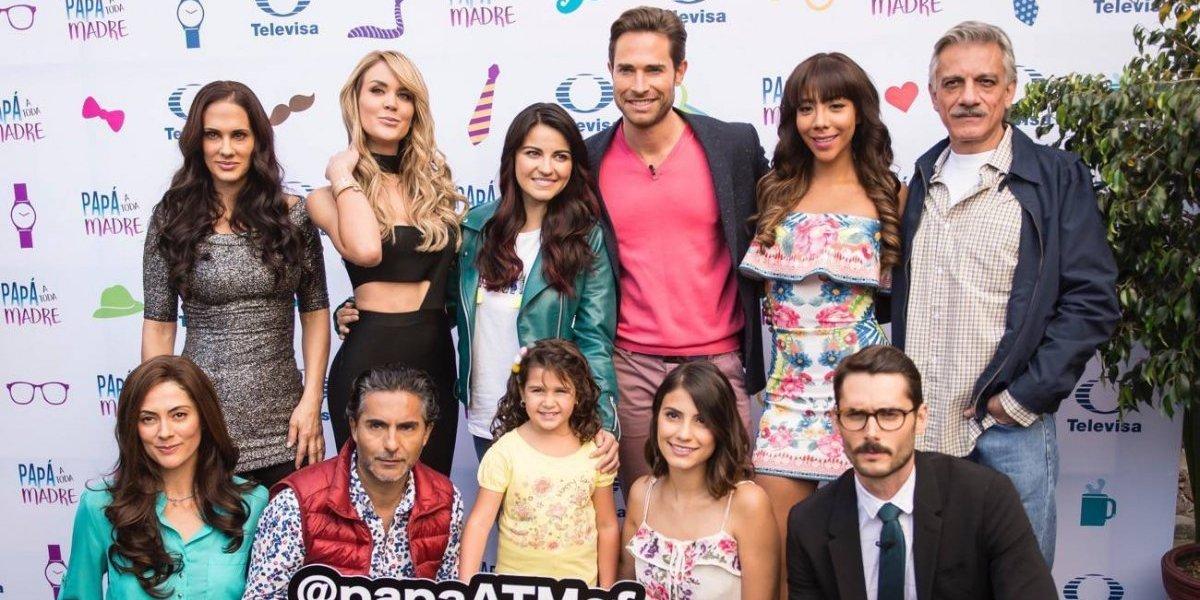 Maite Perroni estrena look y regresa a las telenovelas junto a Rulli