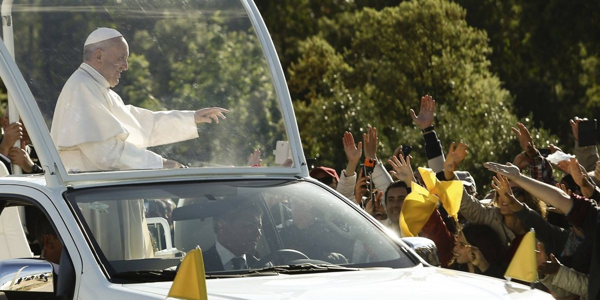 Prepárese para ver al papa Francisco durante estos recorridos en el papamóvil
