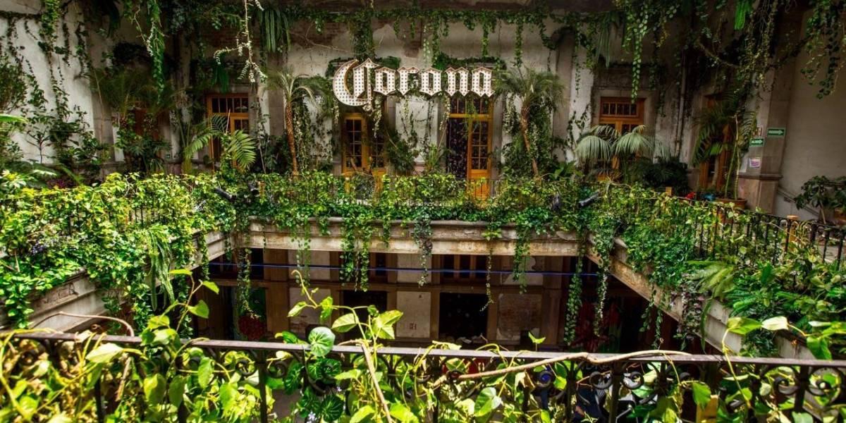 El #ParaísoSecreto de Corona ya está en la CDMX