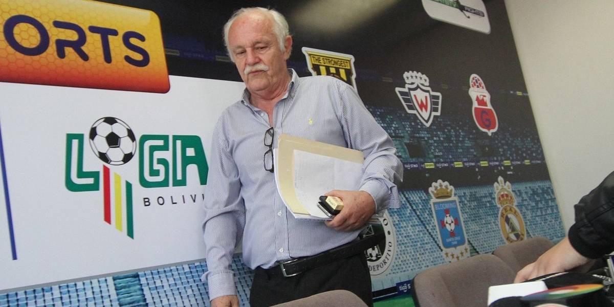 Crisis total en fútbol boliviano: presidente renuncia y habrá huelga de jugadores