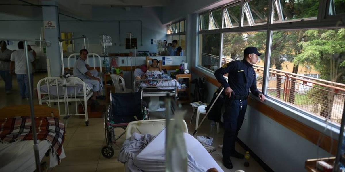 """Guatemala """"exige no más reos en los hospitales"""""""