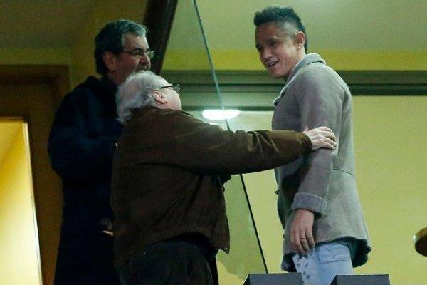 Gustavo Canales ha sido espectador en los partidos de Unión Española en lo que va de Transición / Photosport