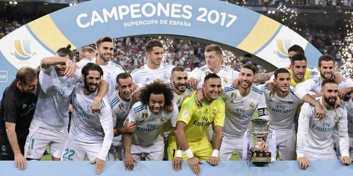 ¡Real Madrid es el campeón de la Supercopa de España!