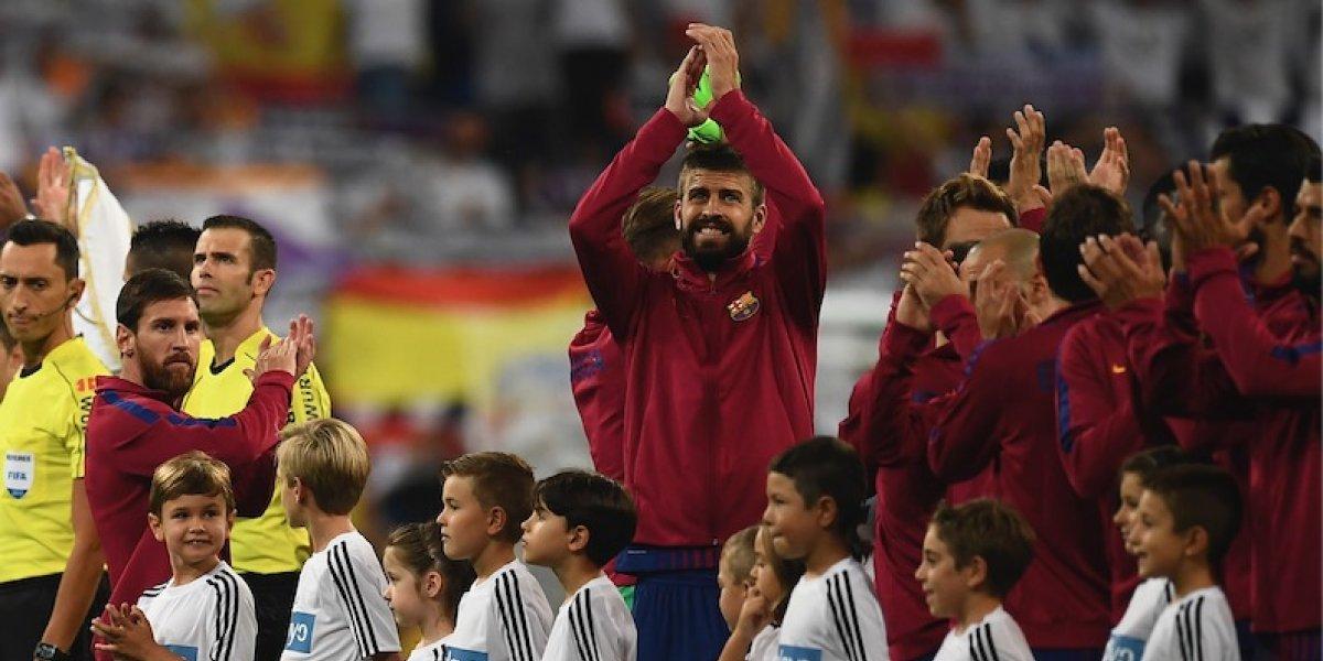 En el Santiago Bernabéu se burlan de Gerard Piqué de la peor forma