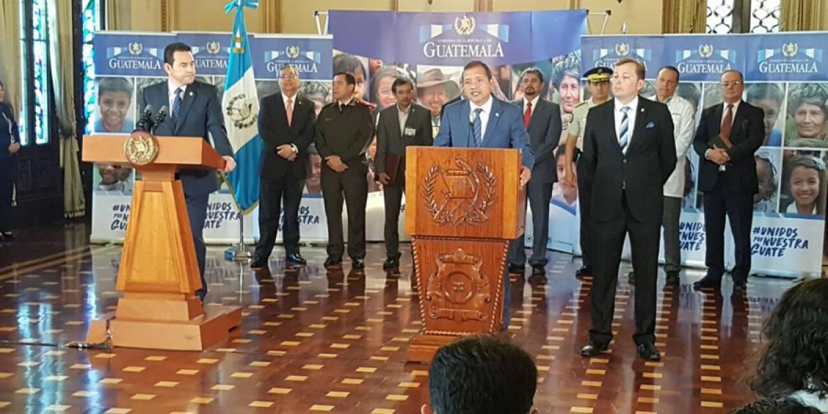"""Ministro de Gobernación: """"Estoy dispuesto a asistir al pleno a ser interpelado"""""""