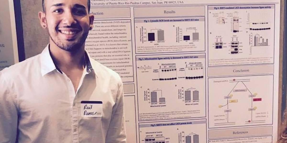 Boricua gana premio en prestigioso internado científico