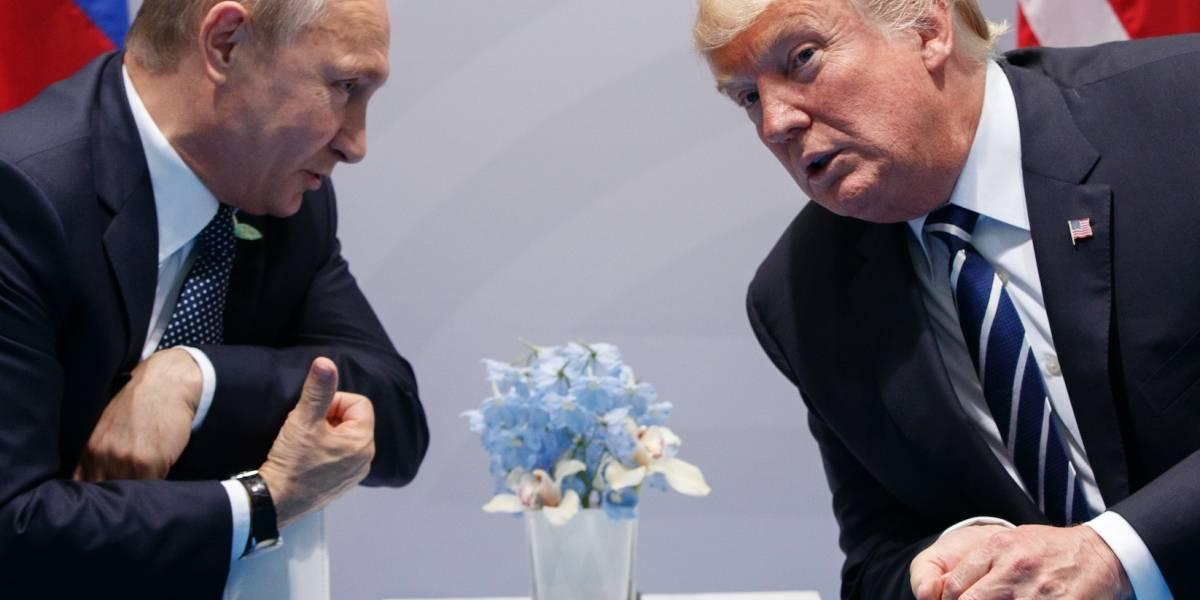 Personas de muchos países confían más en Putin que en Trump