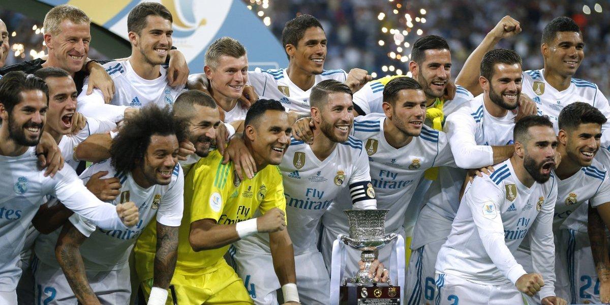 Real Madrid se devora al Barcelona y gana la Supercopa