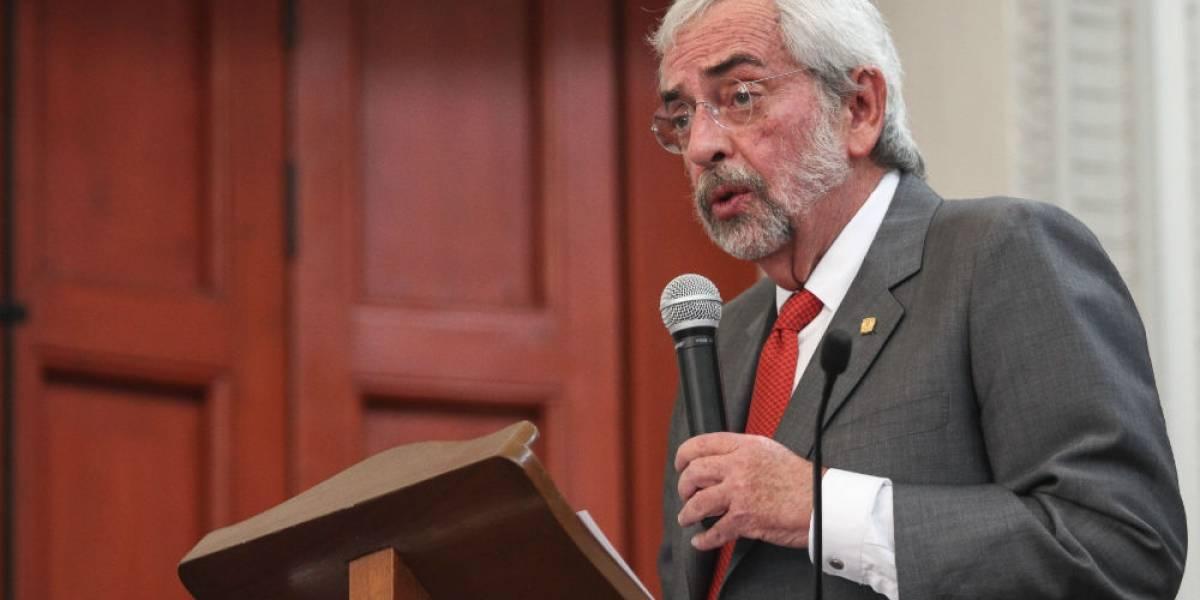 Graue pide a alumnos de la UNAM no comprar drogas