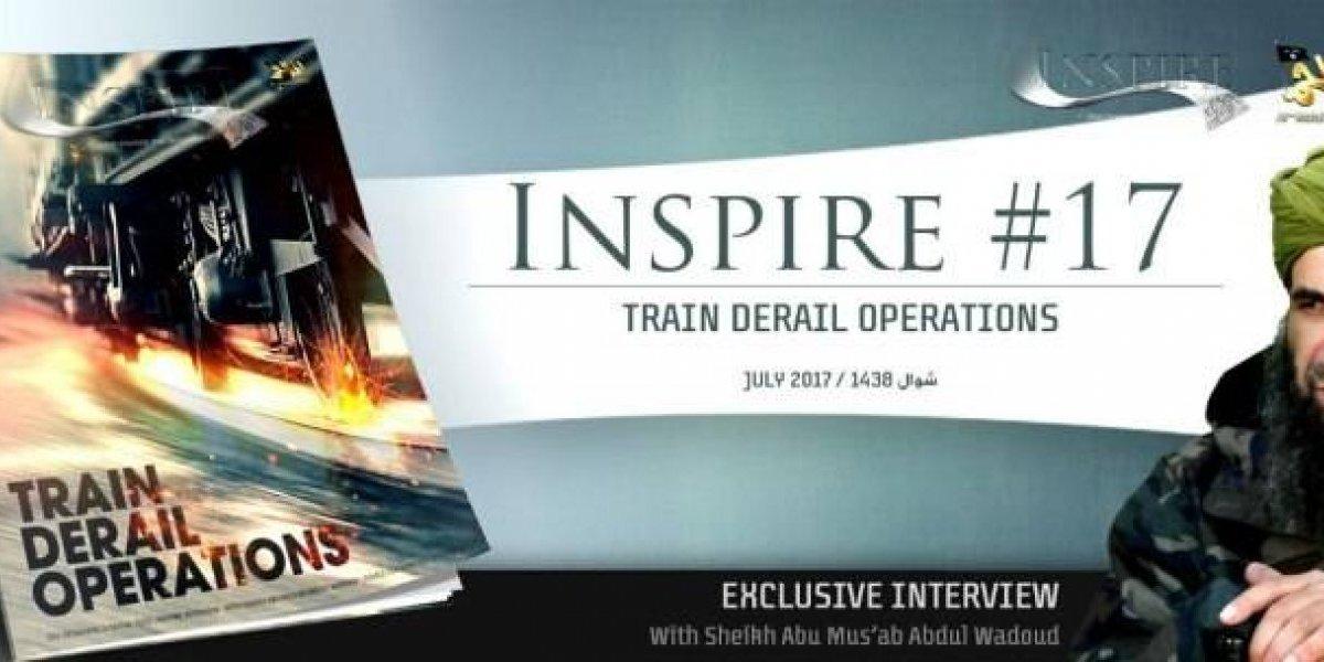 Descarrilar trenes: la nueva forma de ataque que propone Al Qaeda a los lobos solitarios