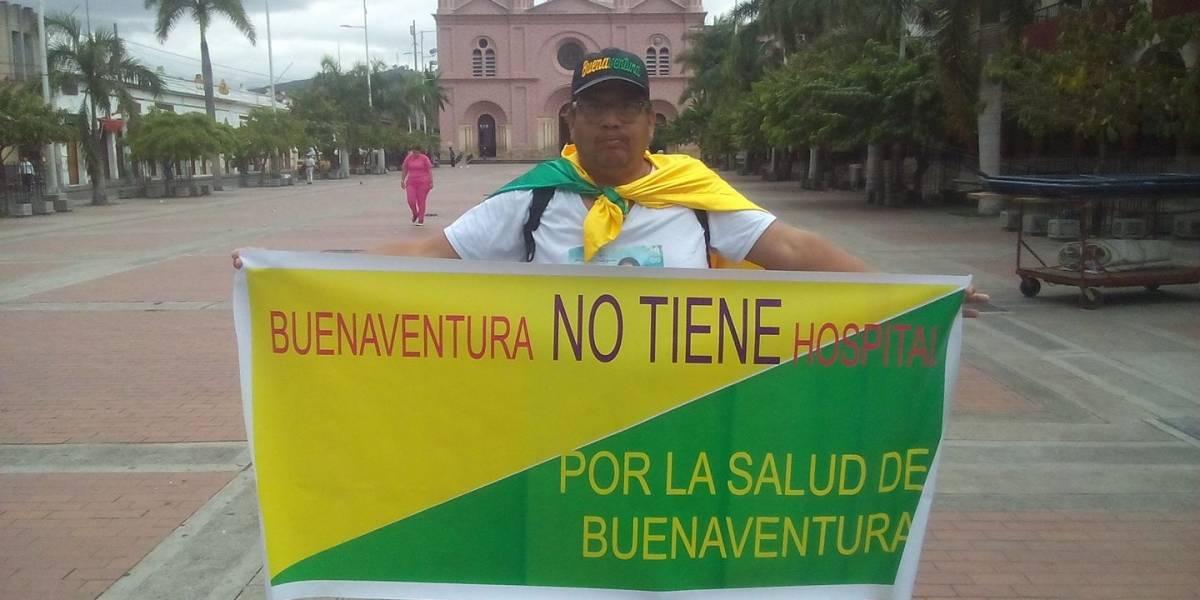 Caminando hacia Bogotá por la salud de Buenaventura