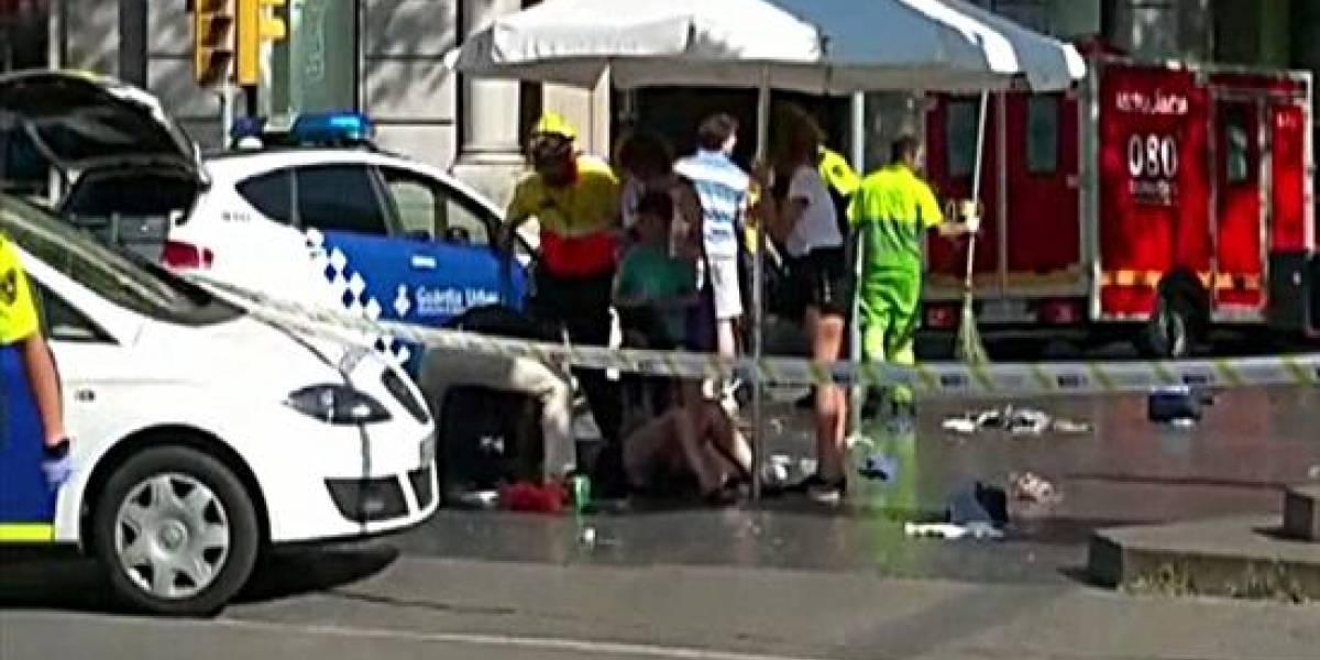 Sigue en vivo los acontecimientos tras el ataque terrorista a Barcelona